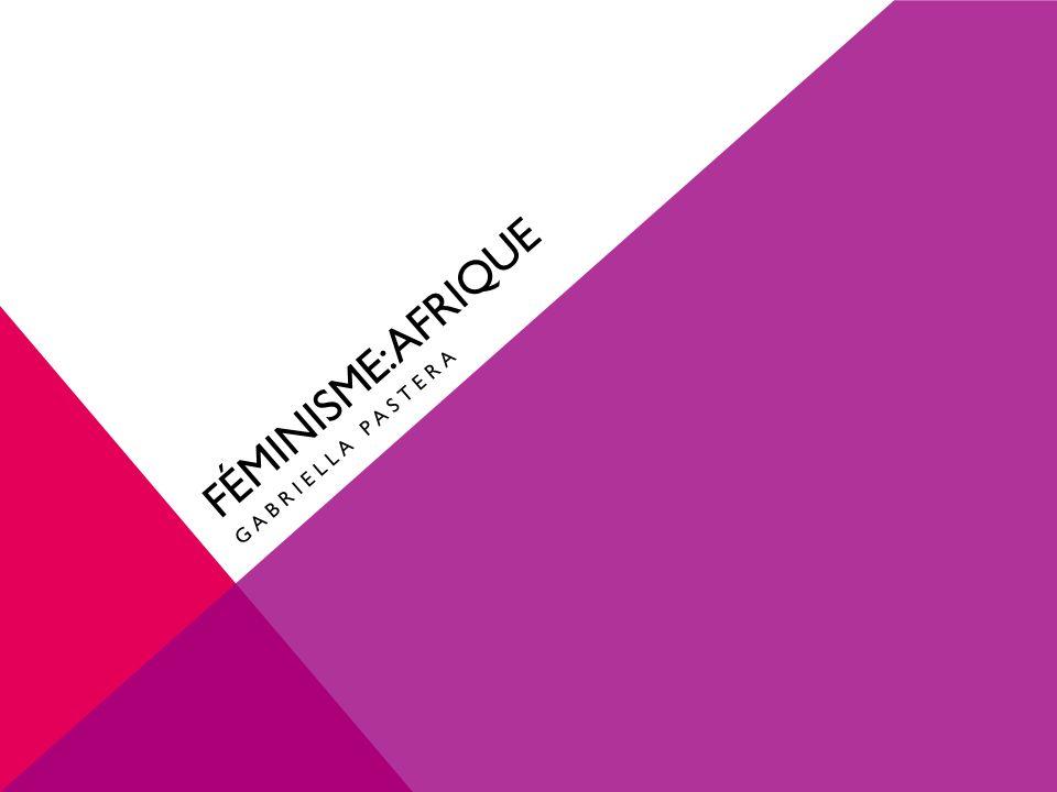 QUESTIONS DE PRÉ-PRÉSENTATION Que savez-vous du féminisme, en général.
