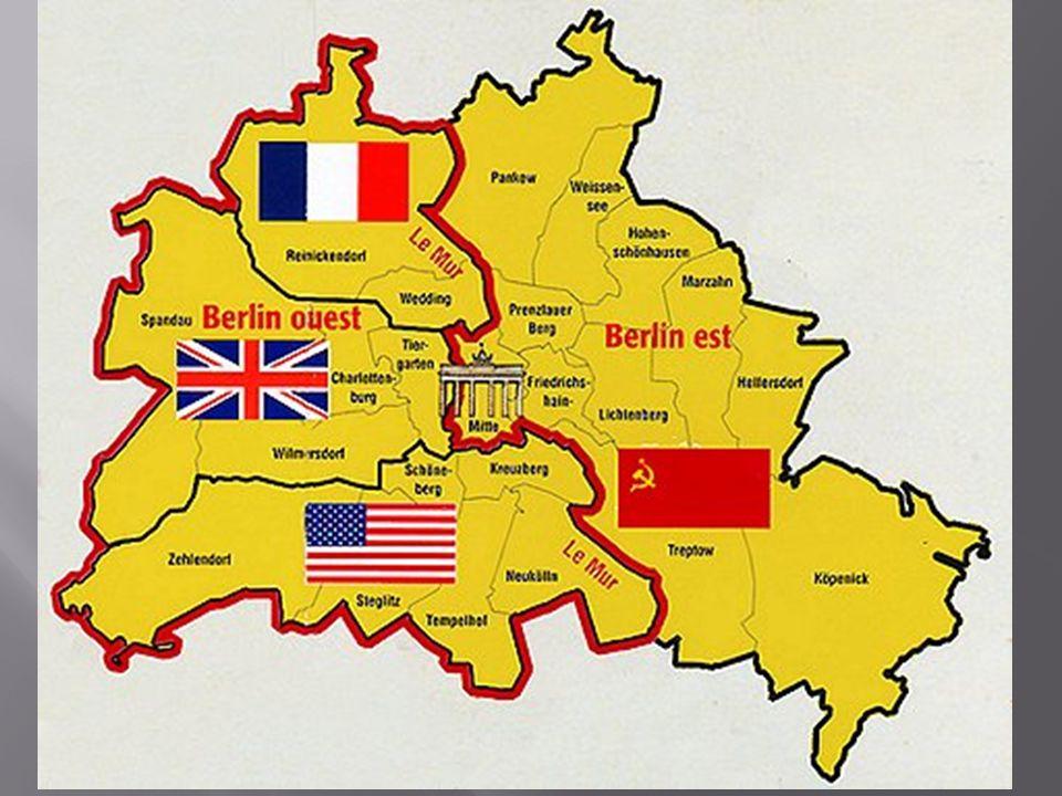 Conformément aux accords de Yalta, on voit apparaître les zones dinfluence: lEurope de lEst est dans le giron communiste.