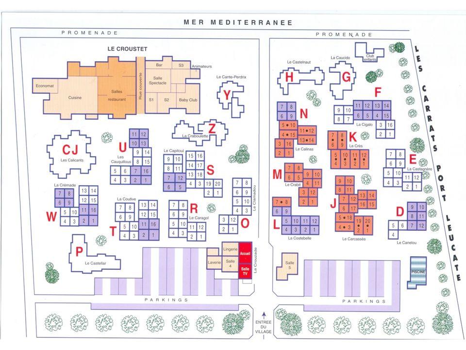 Plan du village à scanner