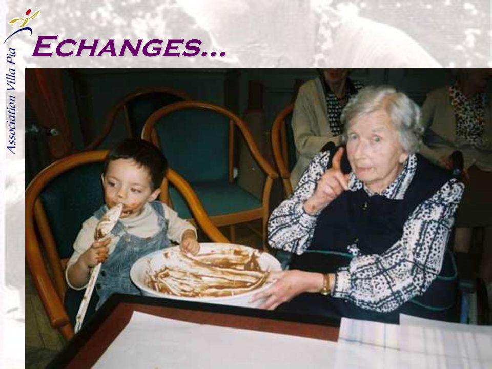 Echanges…