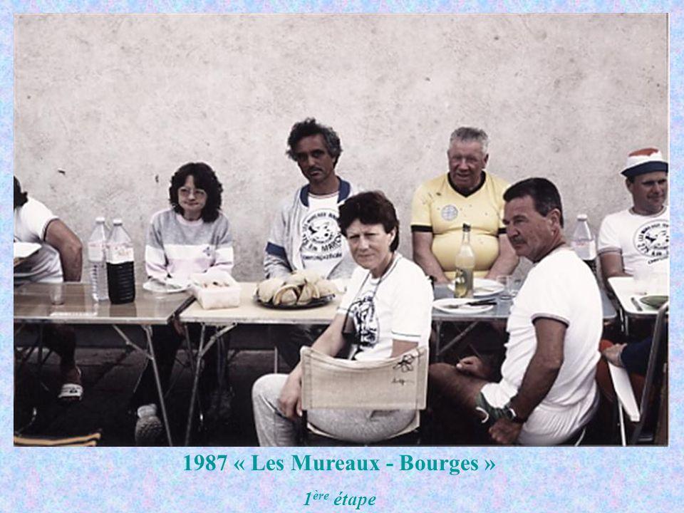 1987 « Les Mureaux - Bourges » 1 ère étape