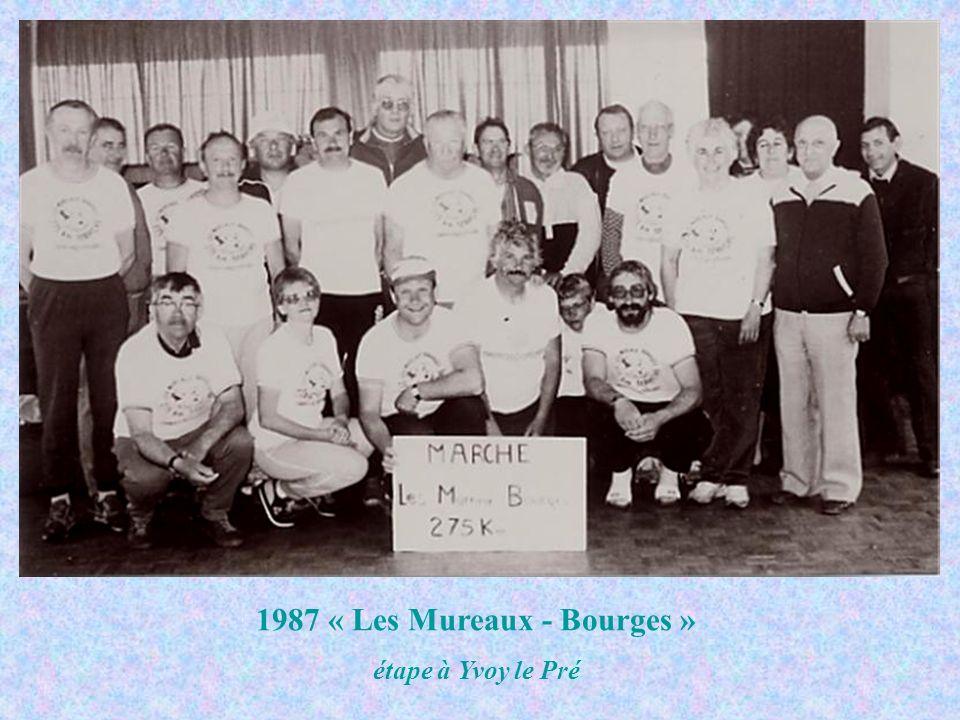 1987 « Les Mureaux - Bourges » étape à Yvoy le Pré