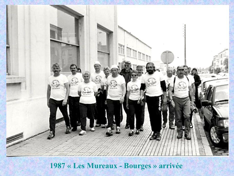 1987 « Les Mureaux - Bourges » arrivée
