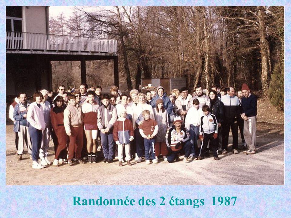 Randonnée des 2 étangs 1987