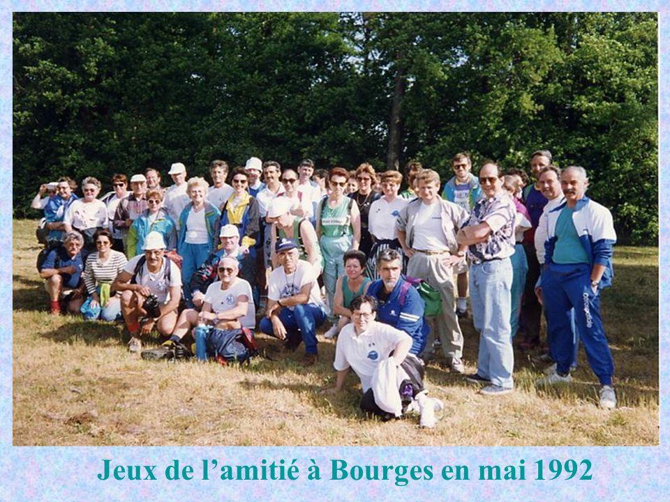 Jeux de lamitié à Bourges en mai 1992