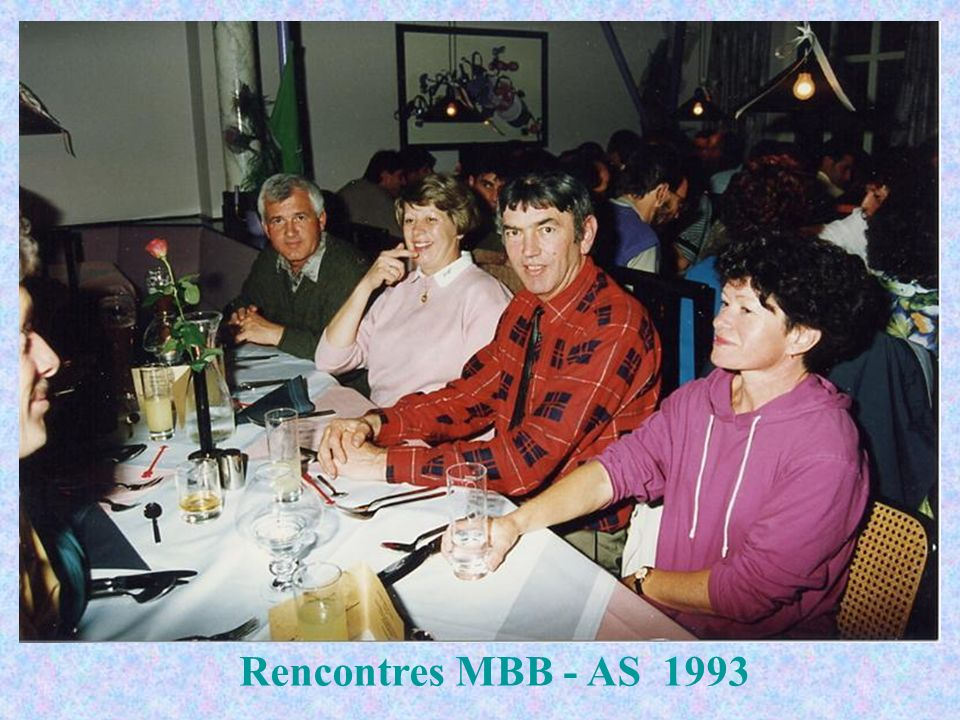 Rencontres MBB - AS 1993