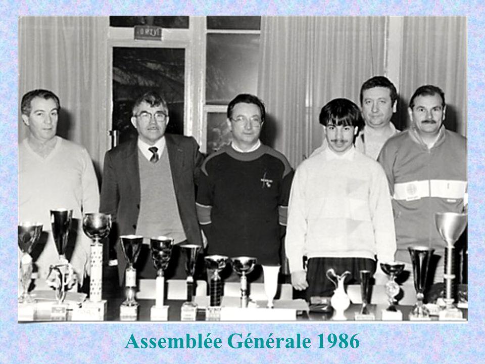 Participation à Le Puy-Firminy en 1991