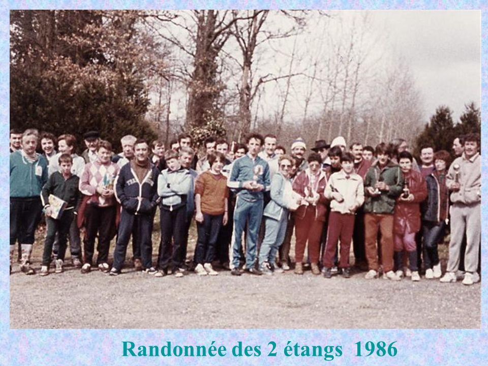 Randonnée des 2 étangs 1986