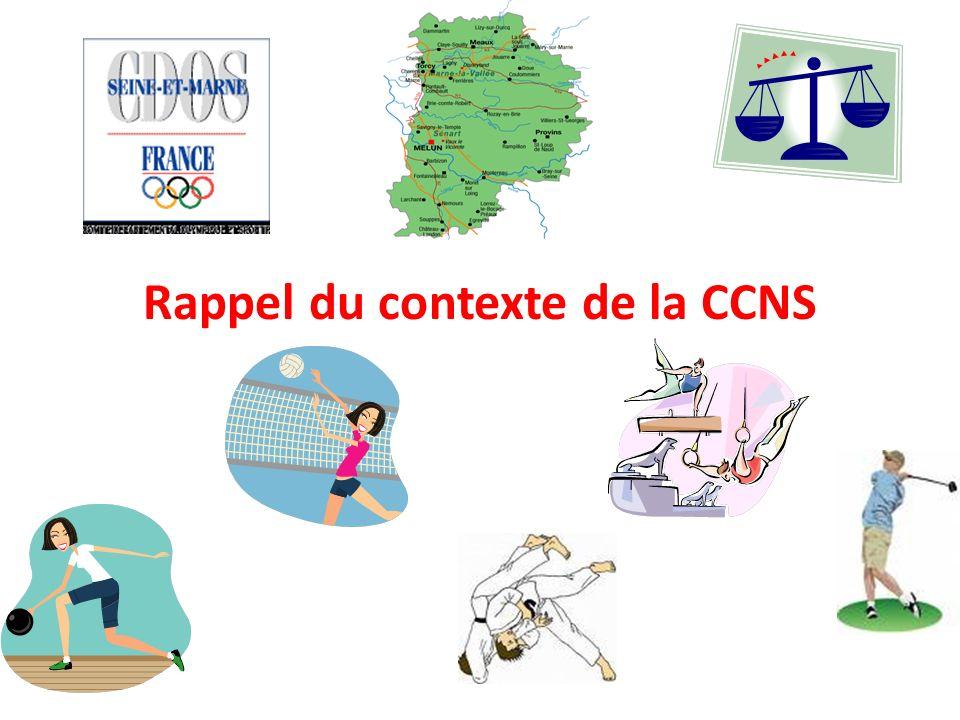 Rappel du contexte de la CCNS