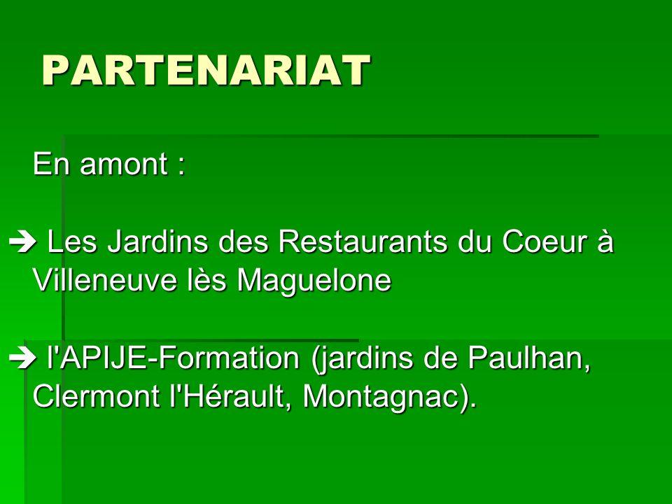 PARTENARIAT En amont : Les Jardins des Restaurants du Coeur à Villeneuve lès Maguelone Les Jardins des Restaurants du Coeur à Villeneuve lès Maguelone