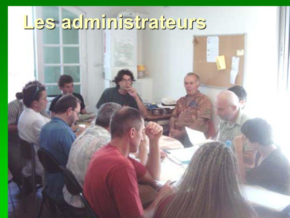 Les administrateurs