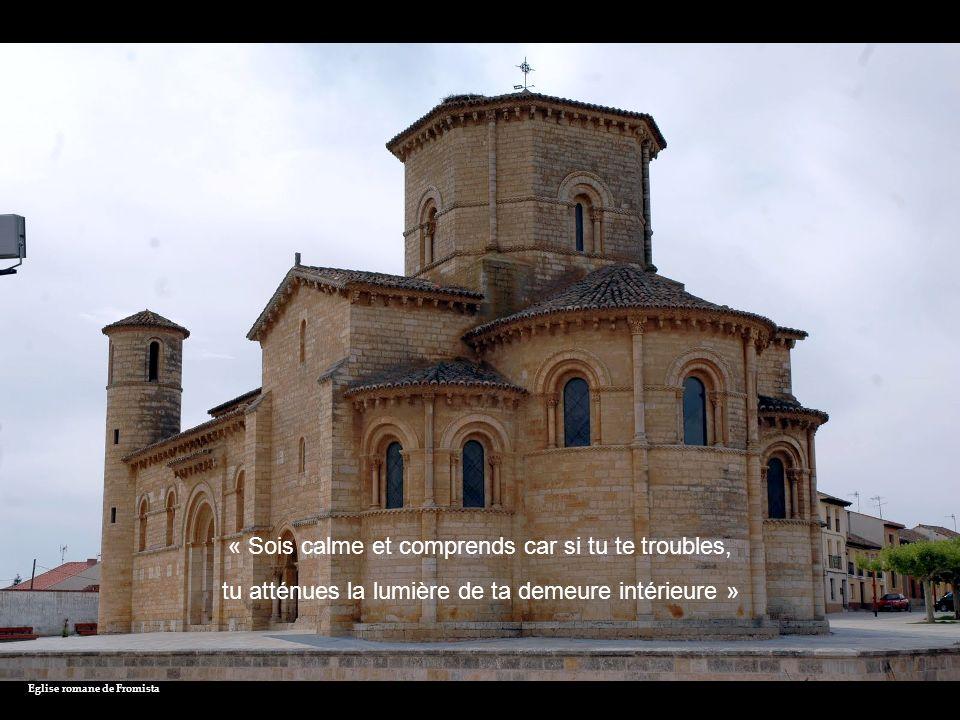 En quittant Castrojeriz - Alto de Mostelares « Tu peux, à l heure que tu veux, te retirer en toi-même, nulle retraite nest plus tranquille que celle que tu trouves en ton âme»