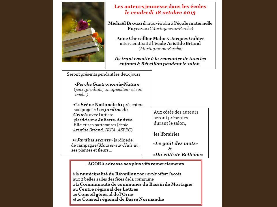 Seront présents pendant les deux jours Perche Gastronomie-Nature (jeux, produits, un apiculteur et son miel…) La Scène Nationale 61 présentera son pro
