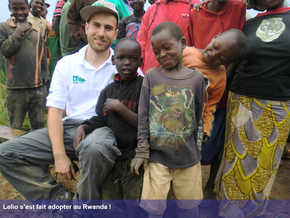 Lelio sest fait adopter au Rwanda !