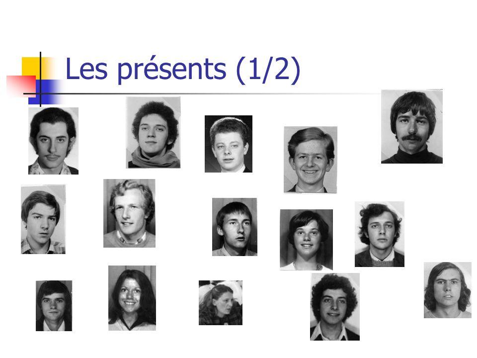 Les présents (2/2) Plus: Michel Reynaud (77)