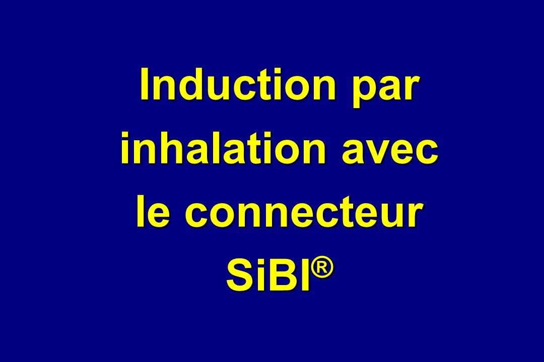 Induction par inhalation avec le connecteur SiBI ®