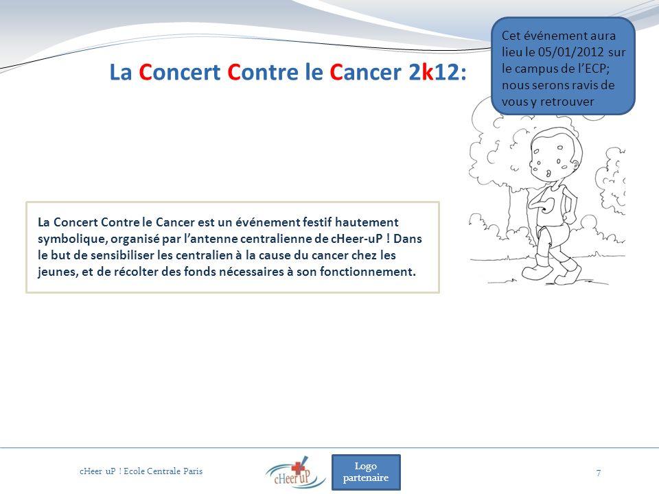Logo partenaire 7 La Concert Contre le Cancer est un événement festif hautement symbolique, organisé par lantenne centralienne de cHeer-uP .