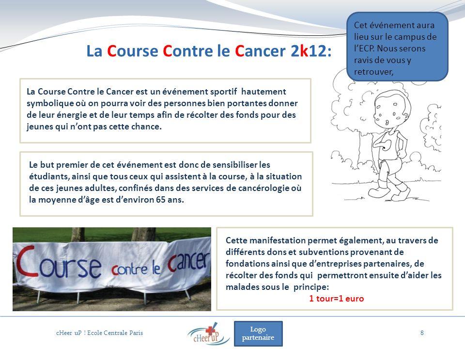 Logo partenaire 8 La Course Contre le Cancer est un événement sportif hautement symbolique où on pourra voir des personnes bien portantes donner de leur énergie et de leur temps afin de récolter des fonds pour des jeunes qui nont pas cette chance.