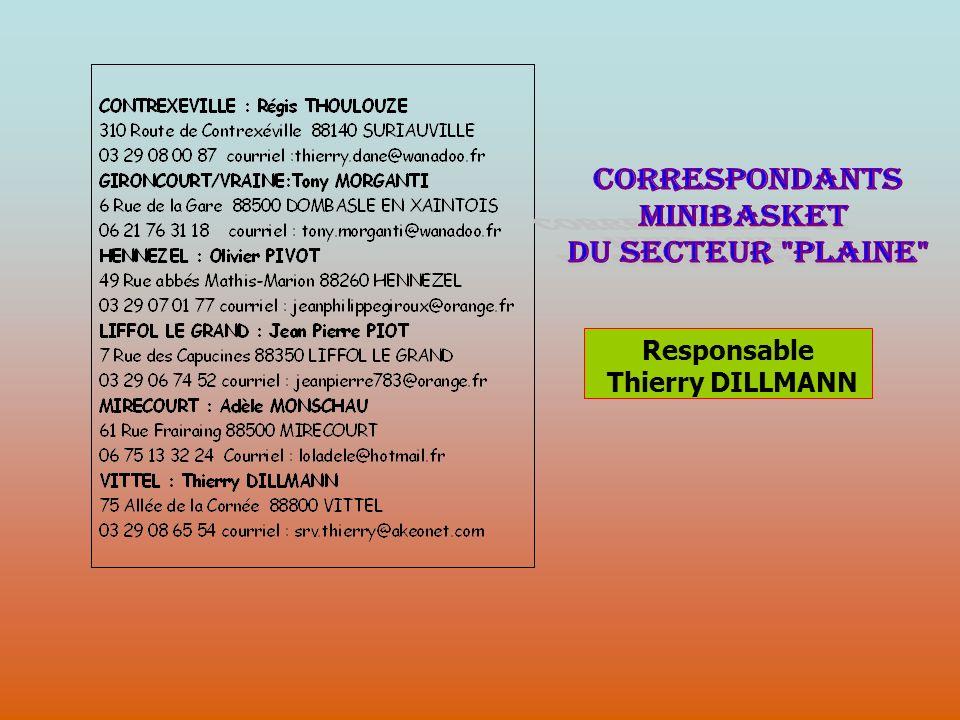 Responsable Thierry DILLMANN