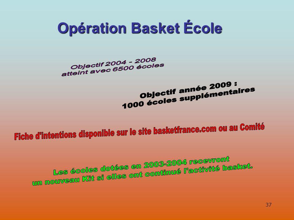 37 Opération Basket École