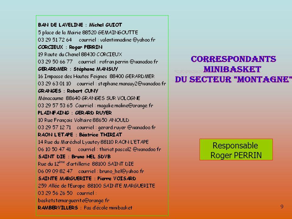 9 Responsable Roger PERRIN