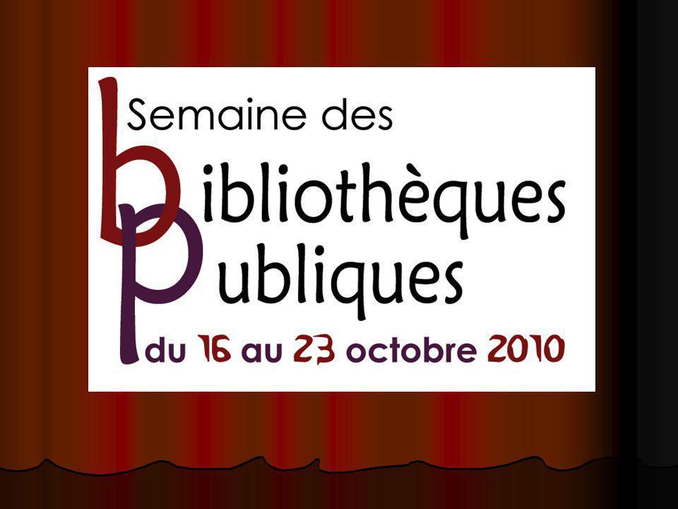 Par la même occasion nous soulignons le 15 e anniversaire de la bibliothèque municipale de Saint-Georges.