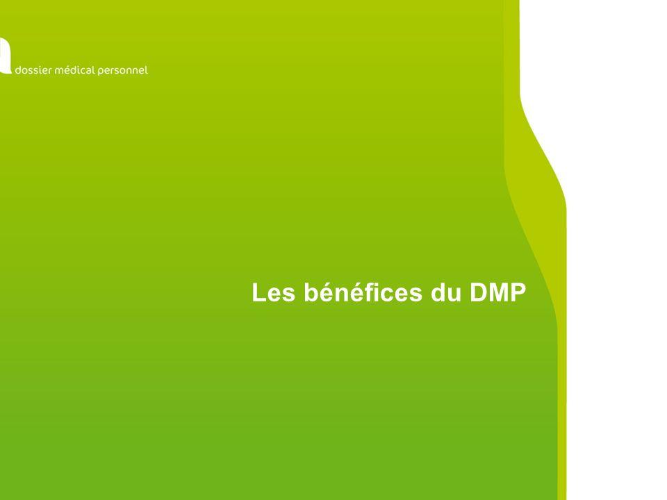 Toutes les étapes se déroulent sur le Portail sécurisé du DMP.