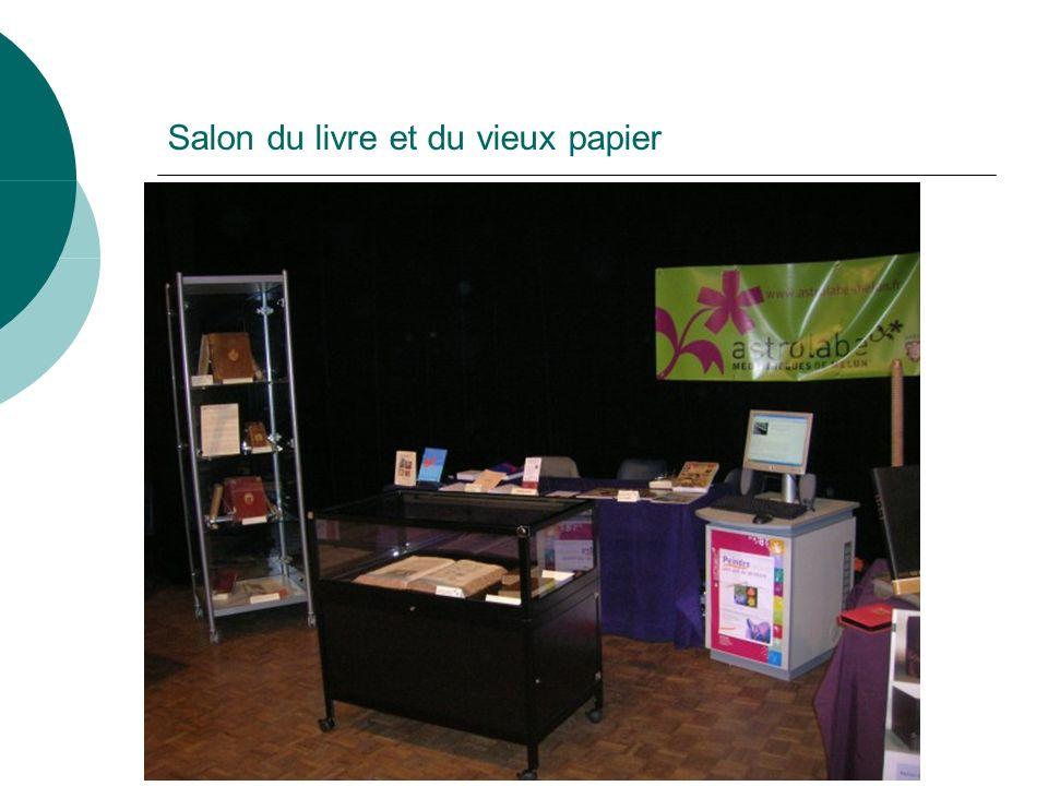 Salon du livre et du vieux papier