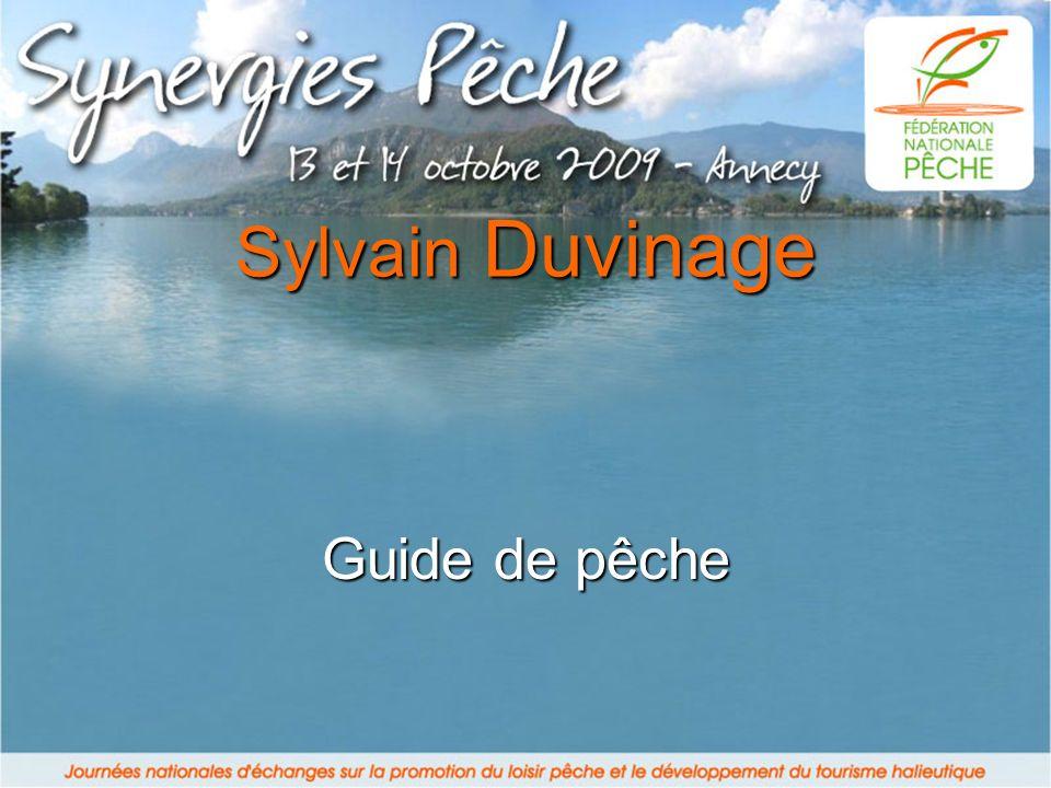Guide de pêche Sylvain Duvinage