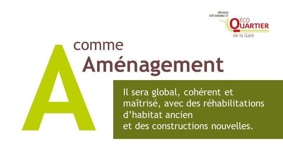 comme Aménagement A Il sera global, cohérent et maîtrisé, avec des réhabilitations dhabitat ancien et des constructions nouvelles.