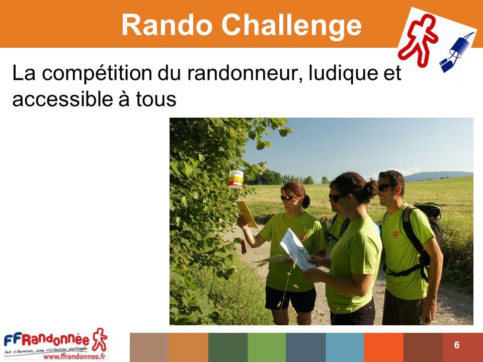 Rando Challenge 6 La compétition du randonneur, ludique et accessible à tous