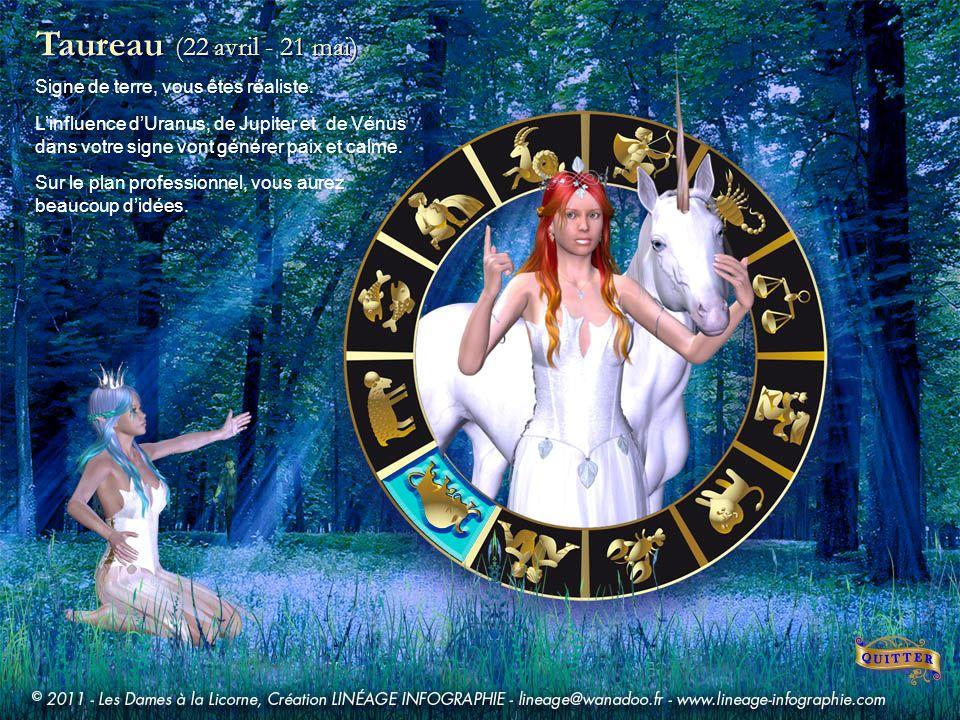 Gémeaux (22 mai - 21 juin) Les influences dUranus, de Mars et du Soleil dans votre signe pourraient couronner les efforts entrepris lan dernier. Cette