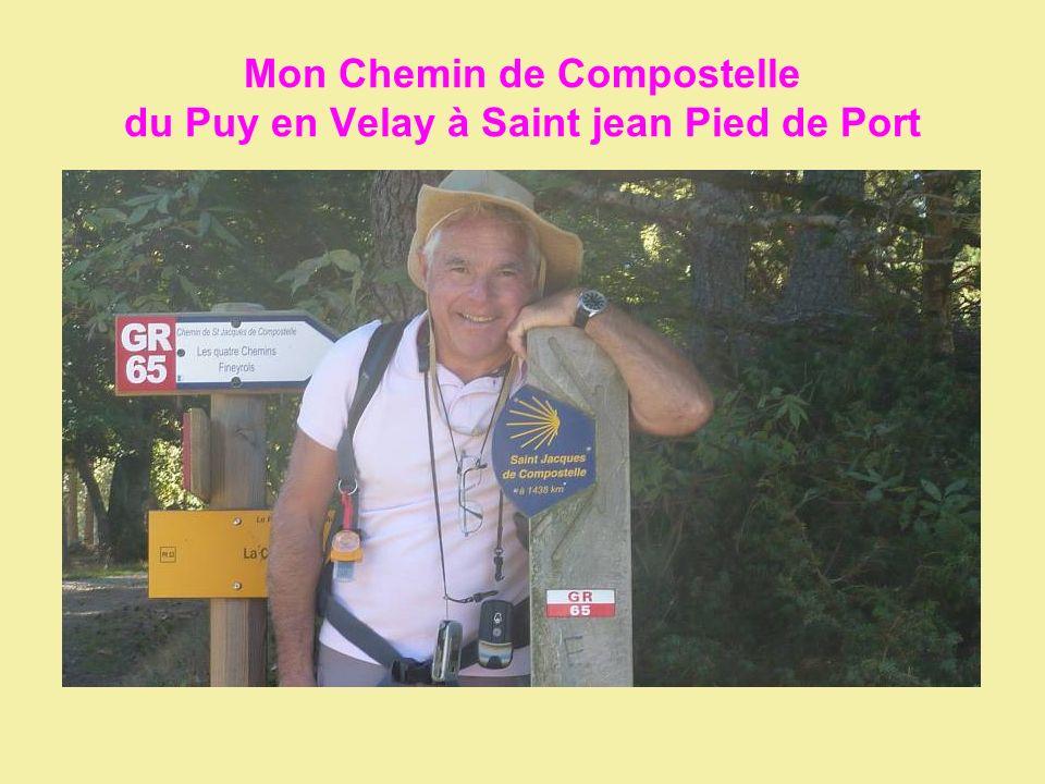 Mon Chemin de Compostelle du Puy en Velay à Saint jean Pied de Port