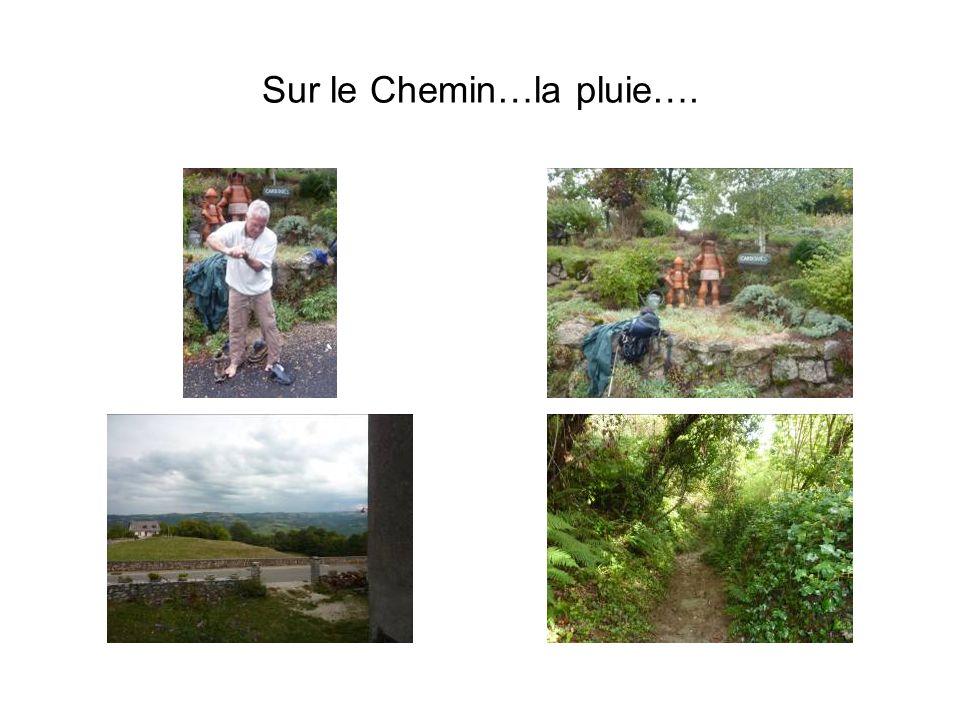 Sur le Chemin…la pluie….