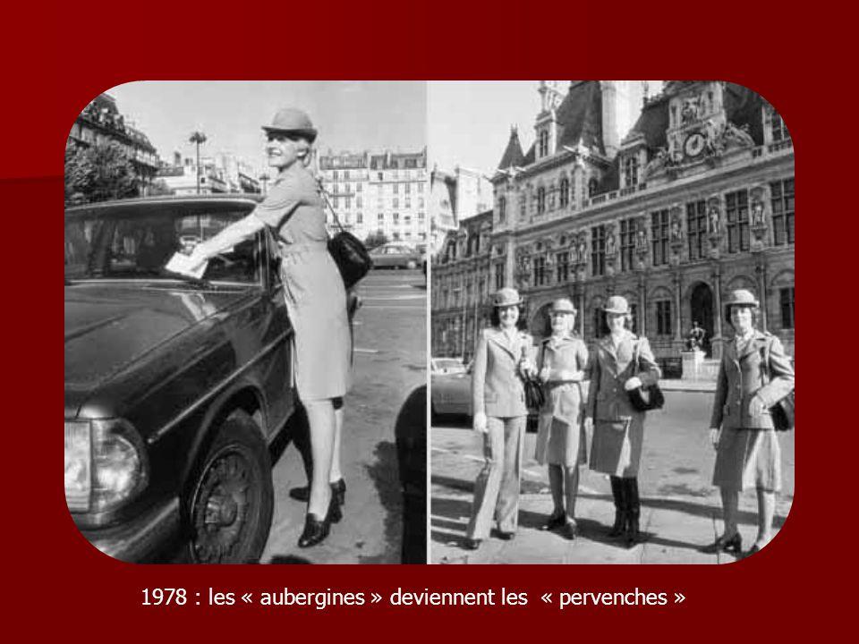 1978 : les « aubergines » deviennent les « pervenches »