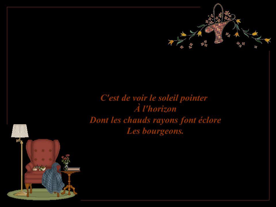 Merveilleux texte positif de: Marie-France Ferrand Création de Lise Tardif (mai 2005) Je souhaite plein de petits bonheurs Pour vous aujourd hui.
