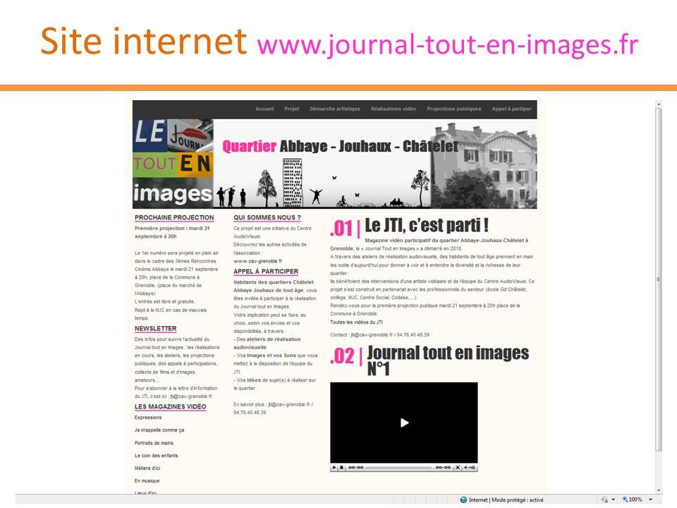 Site internet www.journal-tout-en-images.fr