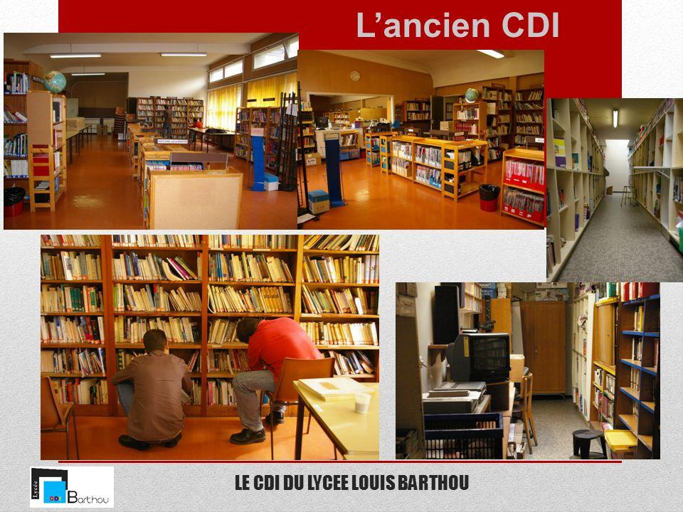 LE CDI DU LYCEE LOUIS BARTHOU Un équipement informatique à la pointe 20 ordinateurs en accès libre.