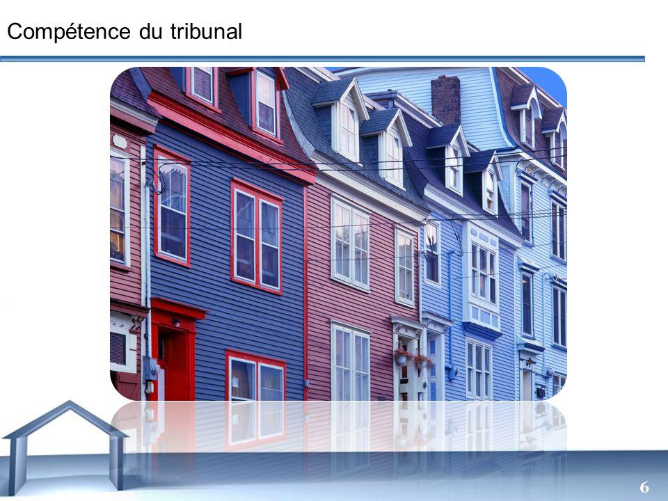 Free Powerpoint Templates 6 Compétence du tribunal