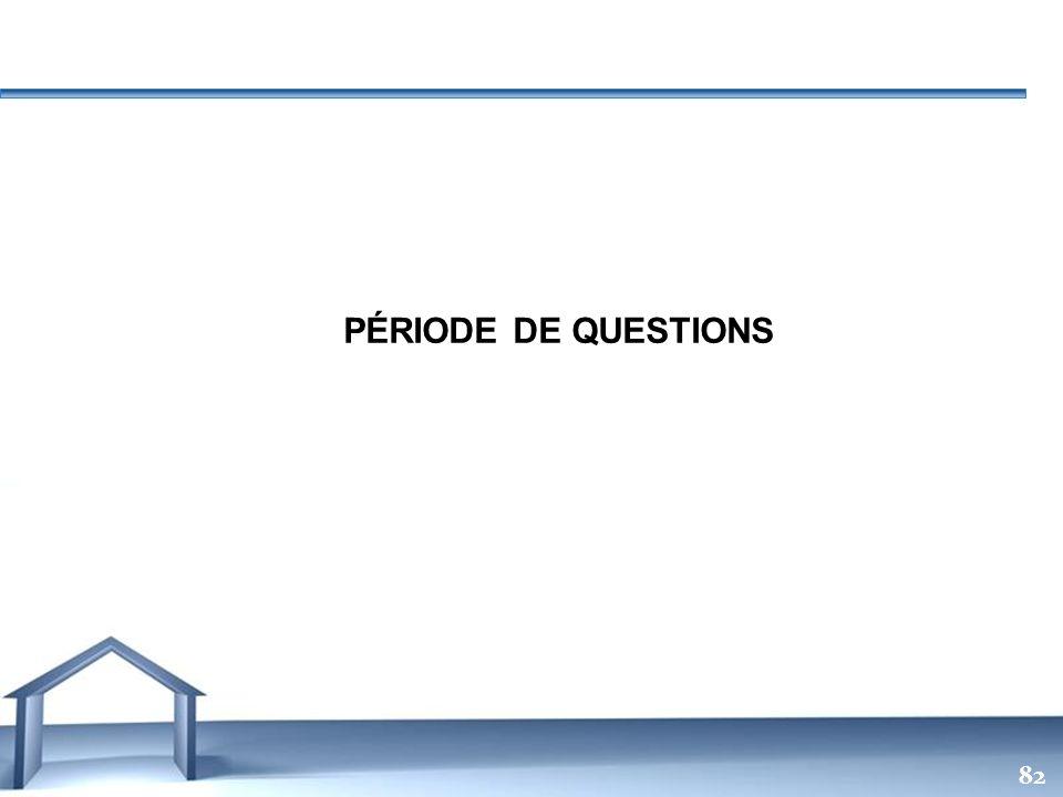 Free Powerpoint Templates 82 PÉRIODE DE QUESTIONS