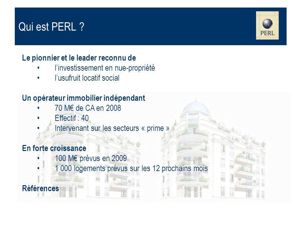 Le pionnier et le leader reconnu de linvestissement en nue-propriété lusufruit locatif social Un opérateur immobilier indépendant 70 M de CA en 2008 E