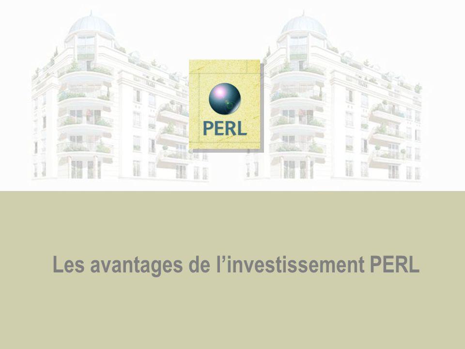 Les avantages de linvestissement PERL