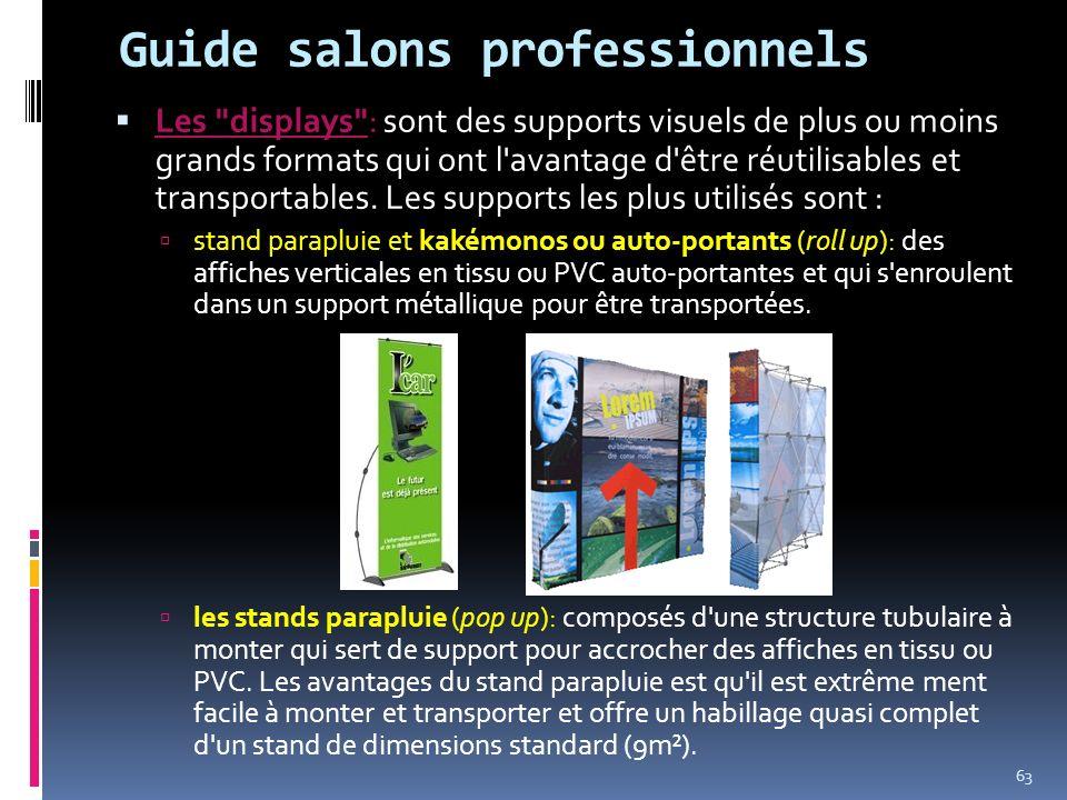 Guide salons professionnels Les