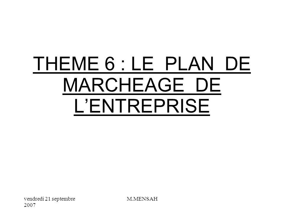 vendredi 21 septembre 2007 M.MENSAH V/ LE CYCLE DE VIE DUN PRODUIT Le cycle de vie correspond à la durée de vie dun produit ou dun service.
