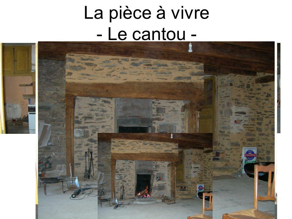 La pièce à vivre - Le cantou -