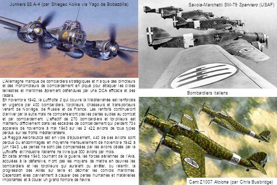LAllemagne manque de bombardiers stratégiques et na que des bimoteurs et des monomoteurs de bombardement en piqué pour attaquer les cibles terrestres et maritimes âprement défendues par une DCA efficace et des radars.