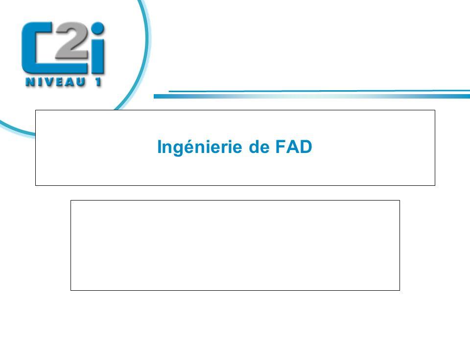 Titre Ingénierie de FAD Rachid EL BOUSSARGHINI MENESR - SDTICE