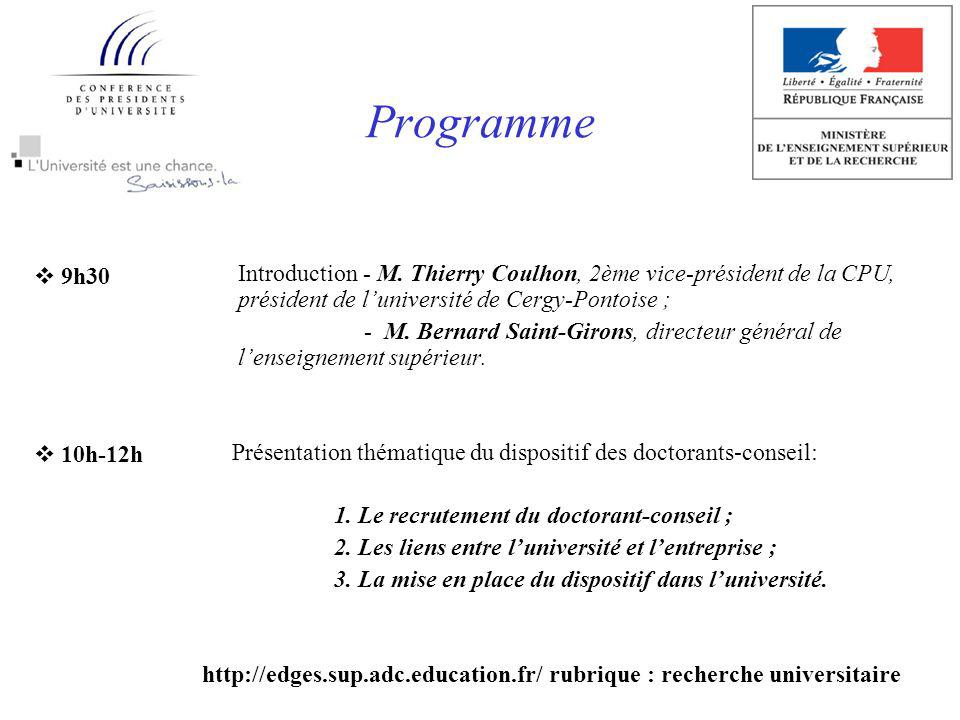 Programme Introduction - M.