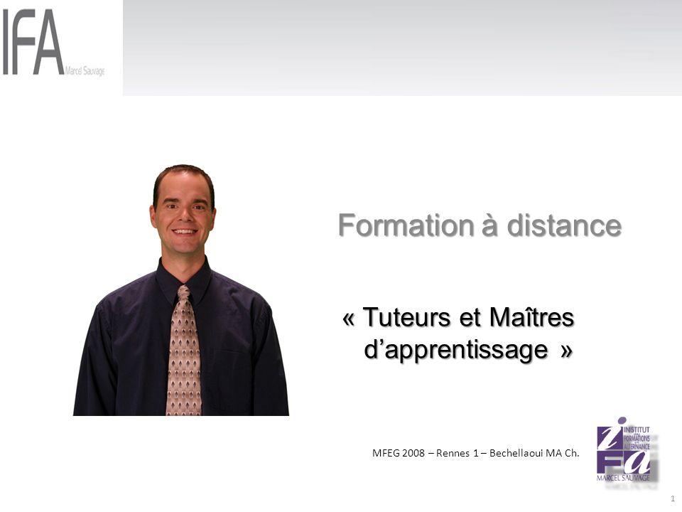 Formation à distance MFEG 2008 – Rennes 1 – Bechellaoui MA Ch.