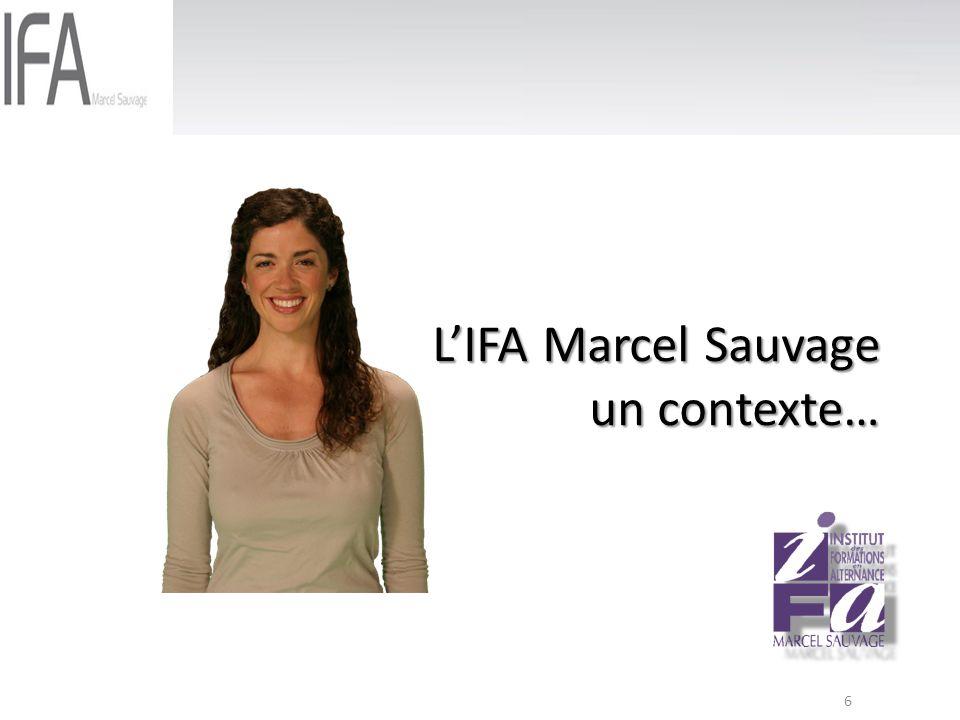 6 LIFA Marcel Sauvage un contexte…